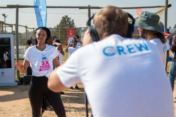 Full Video Production by Cape Town Videographer for The OMO 3X POWER CHALLENGE Social Media Campaign with Celebrity Luthando Loot Love in Bryanston, Johannesburg